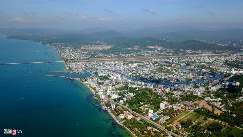 Bờ tây đảo ngọc Phú Quốc