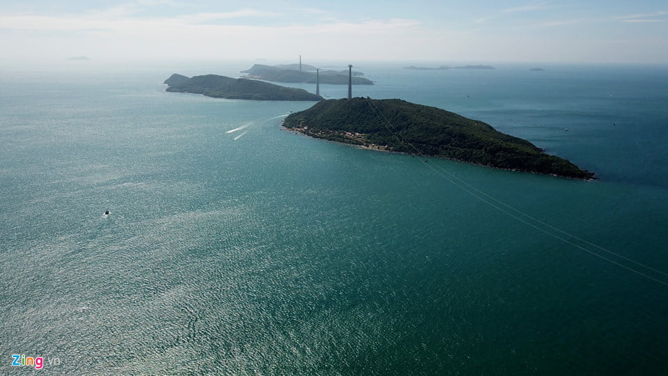 Đảo Hòn Thơm với tuyến cáp treo dài nhất thế giới, nối thị trấn An Thới.