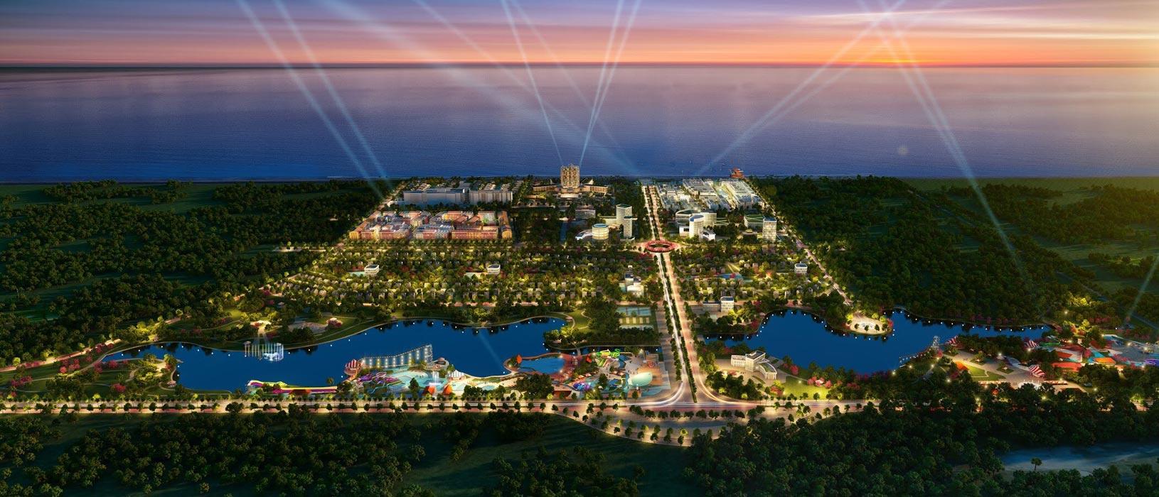 Dự án Marina Phú Quốc về đêm