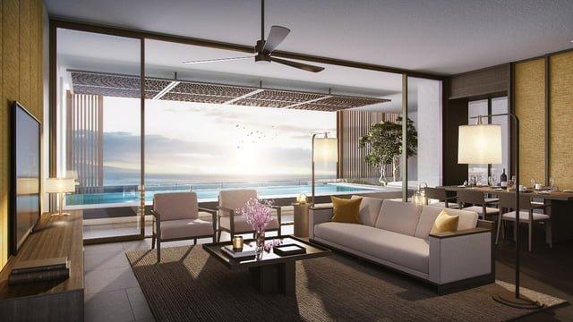 Nội thất Sky Villas - Regent Residences Phu Quoc.
