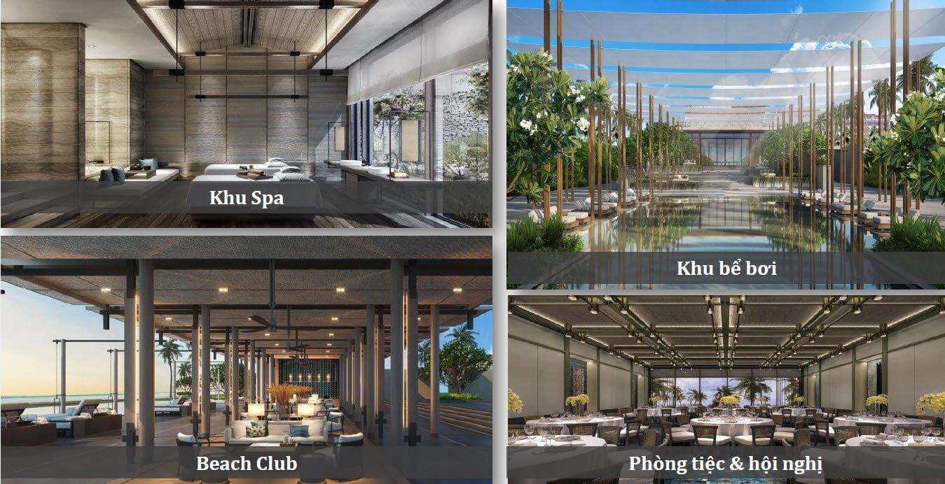 Tiện ích sky villas Phu Quoc