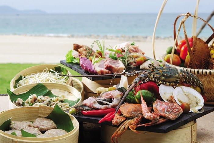 hải sản tươi ngon tại Mia Resort