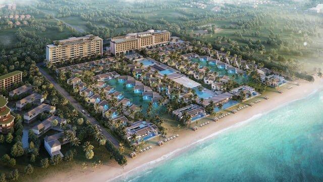 Hình ảnh tổng thể dự án Regent Residences Phu Quoc