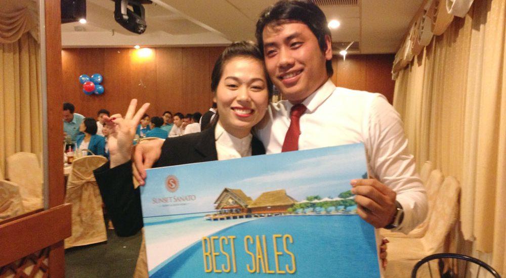 Chị Hoàng Anh best sales Công ty PQR