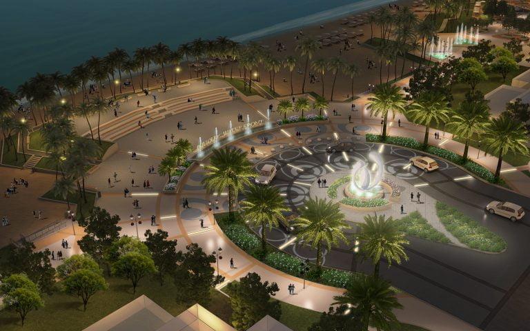 Quảng trường biển tại dự án Marina Phú Quốc