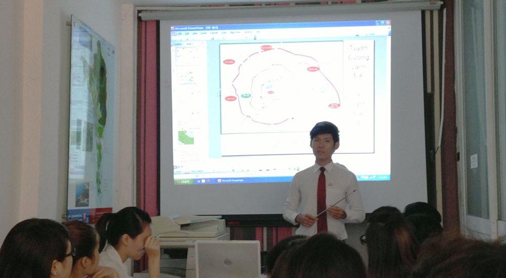 Hướng dẫn, đào tạo Nhân viên Kinh Doanh tại PQR