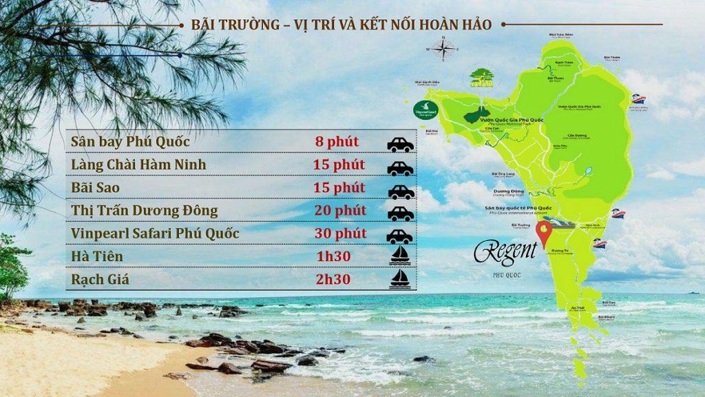 Di chuyển thuận lợi từ Regent Sky Villas Phú Quốc