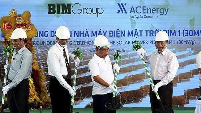 BIM Group tổ chức khởi công dự án điện mặt trời đầu năm nay