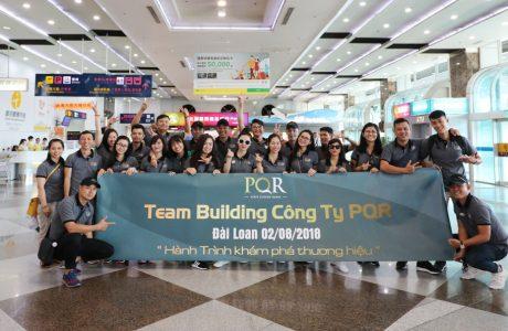 Team building Công ty PQR (2/8 - 5/8/2018)
