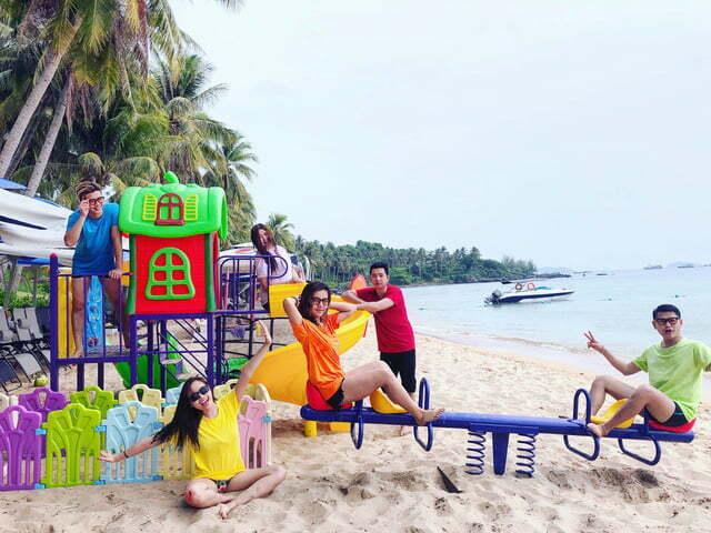 Khu vui chơi cho trẻ tại Phú Quốc