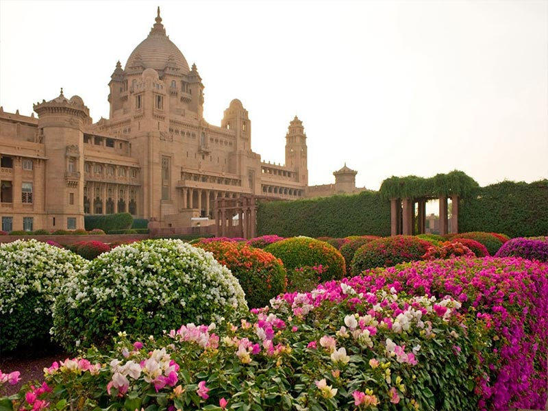 Cung điện Umaid Bhawan (Taj), Jodhpur, Ấn Độ