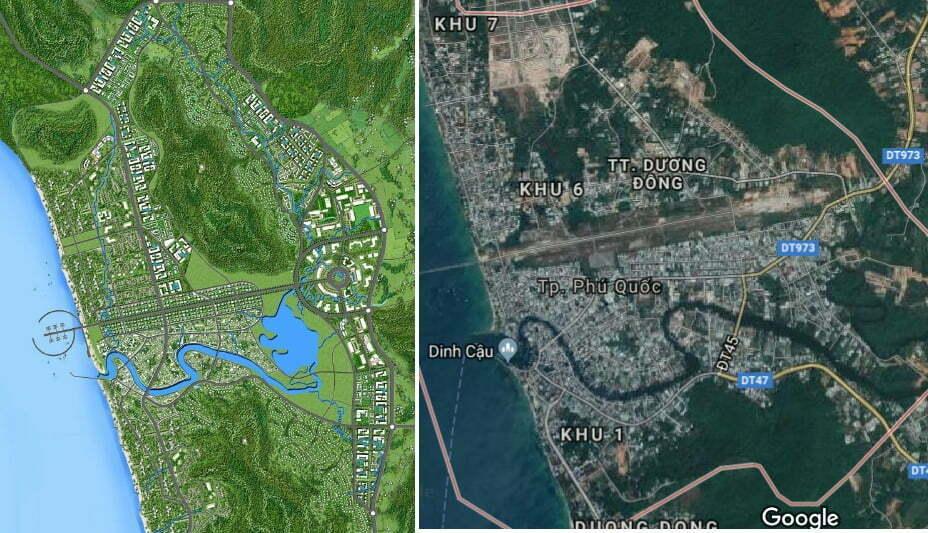 10/09/2018 2:58 PM Kiên Giang: Điều chỉnh quy hoạch khu đô thị Dương Đông, mở 2 đường ven biển phía Tây và Nam