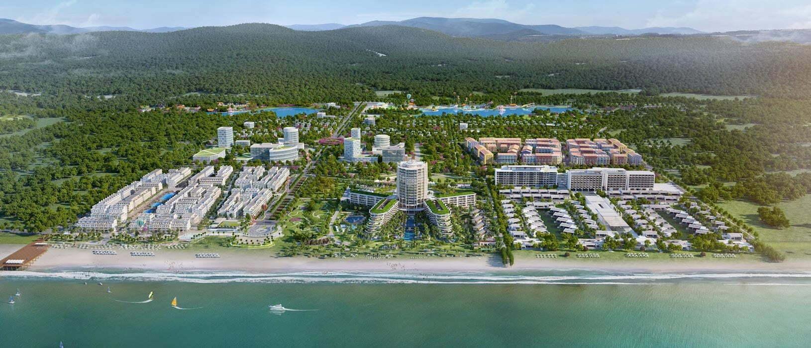 Khu phức hợp dự án Marina Phu Quoc được quy hoạch bài bản rộng 155 ha tại Phú Quốc