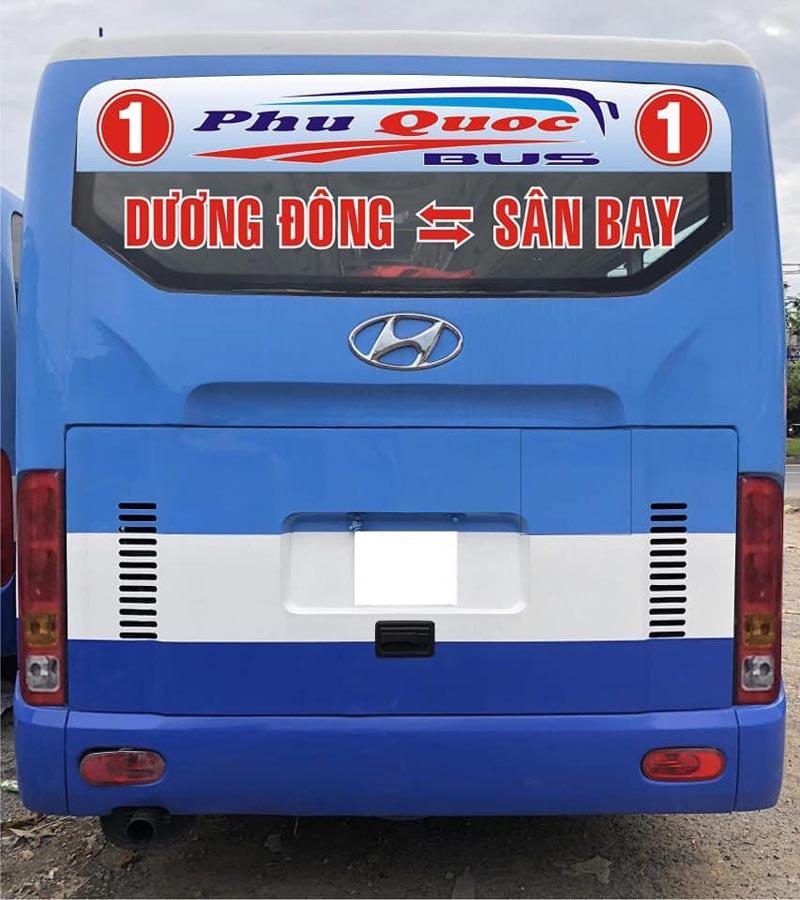 Tuyến xe buýt số 1 Phú Quốc