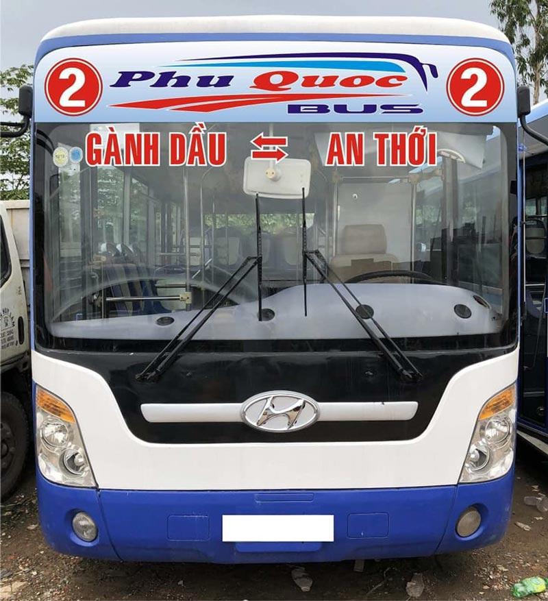Tuyến xe buýt số 2 Phú Quốc