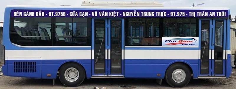 Tuyến xe buýt số 3 Phú Quốc