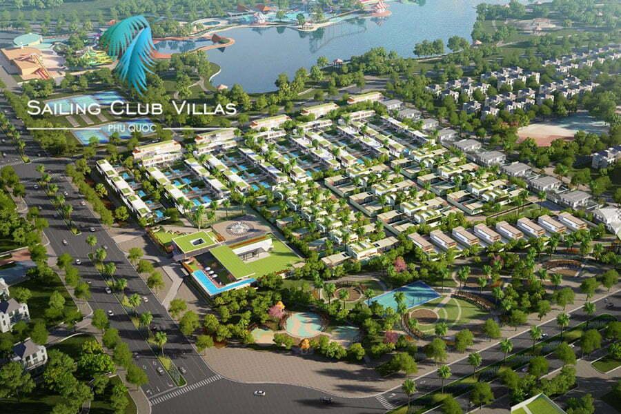 Mặt bằng dự án sailing Club Villas Phu Quoc - Biệt thự Phu Quoc Marina