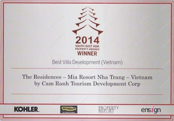 Các giải thưởng cho dự án tại Việt Nam của GFAB