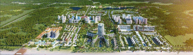 Khu phức hợp thương mại Phu Quoc Marina do BIM Group đầu tư và xây dựng