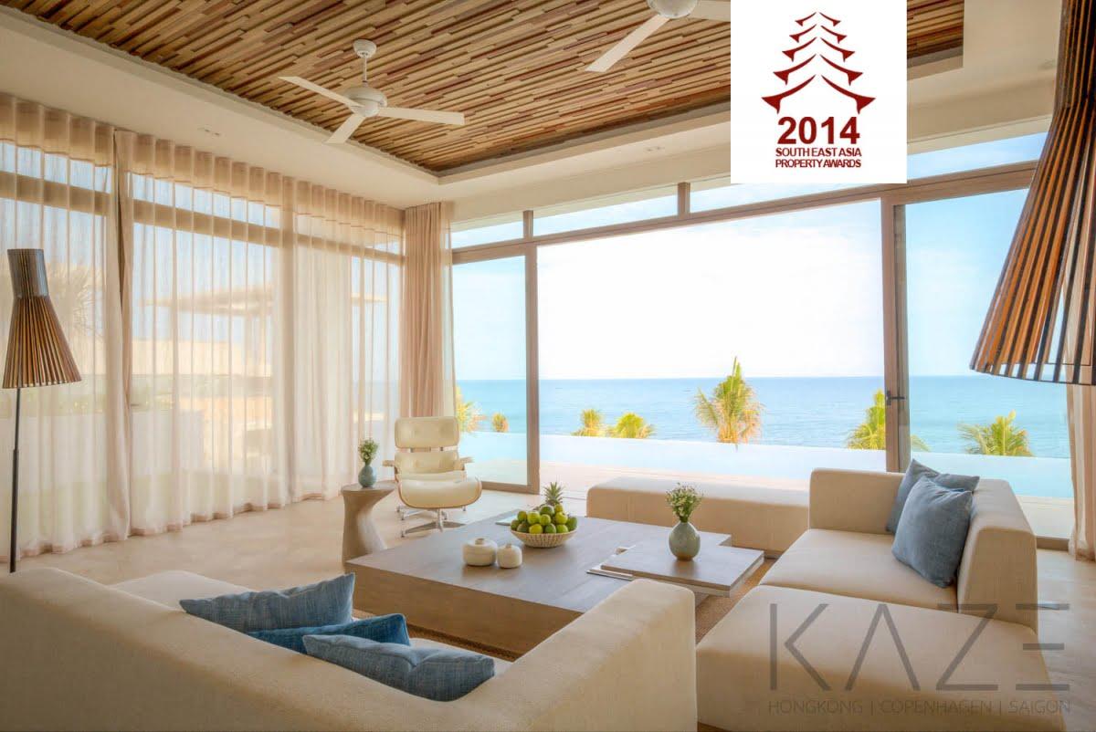 giải thưởng South East Asia Property Awards cho dự án The Residences MIA Nha Trang năm 2014