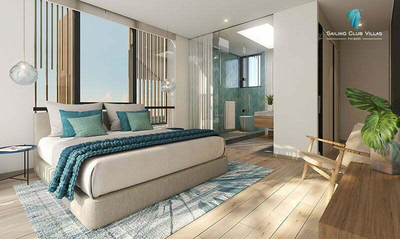Thiết kế nội thất Sailing Club Villas Phú Quốc