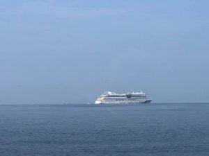 Tàu quốc tế AIDAbella chở gần 2500 du khách cập bến Đảo ngọc Phú Quốc.