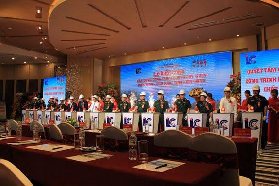 Lễ khởi công xây dựng công trình đường dây 220kV Kiên Bình-Phú Quốc