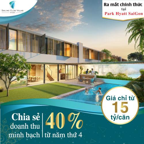 Sự kiện mở bán dự án Sailing Club Vilals Phú Quốc tại Park Hyatt Sai Gon