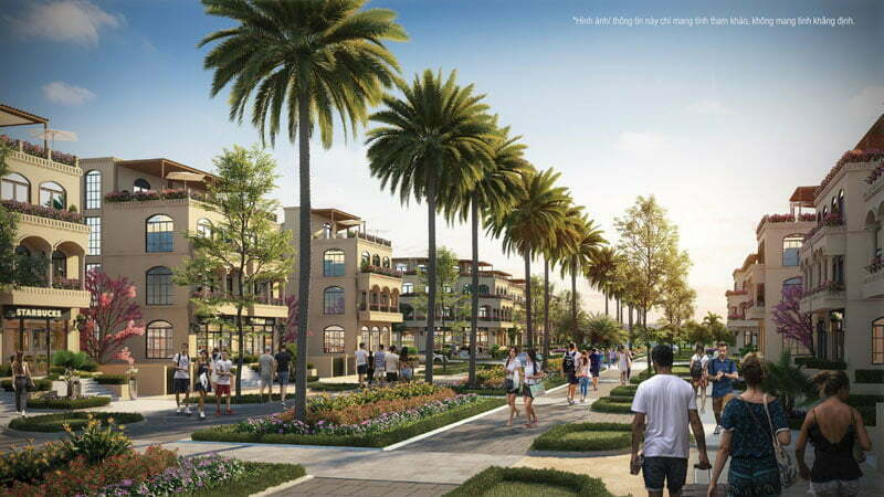 Palm Garden Shop Villas Phú Quốc - Biệt thự kết hợp Shop kinh doanh Phú Quốc