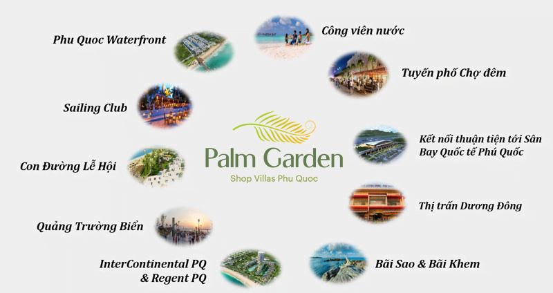 Tiện ích Palm Garden Shop Villas Phú Quốc