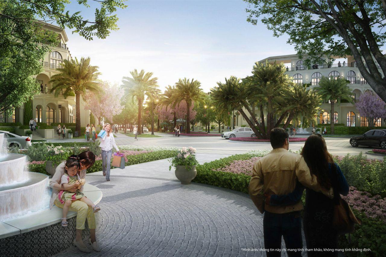 Công viên - Tiện ích Shop Villas Phú Quốc