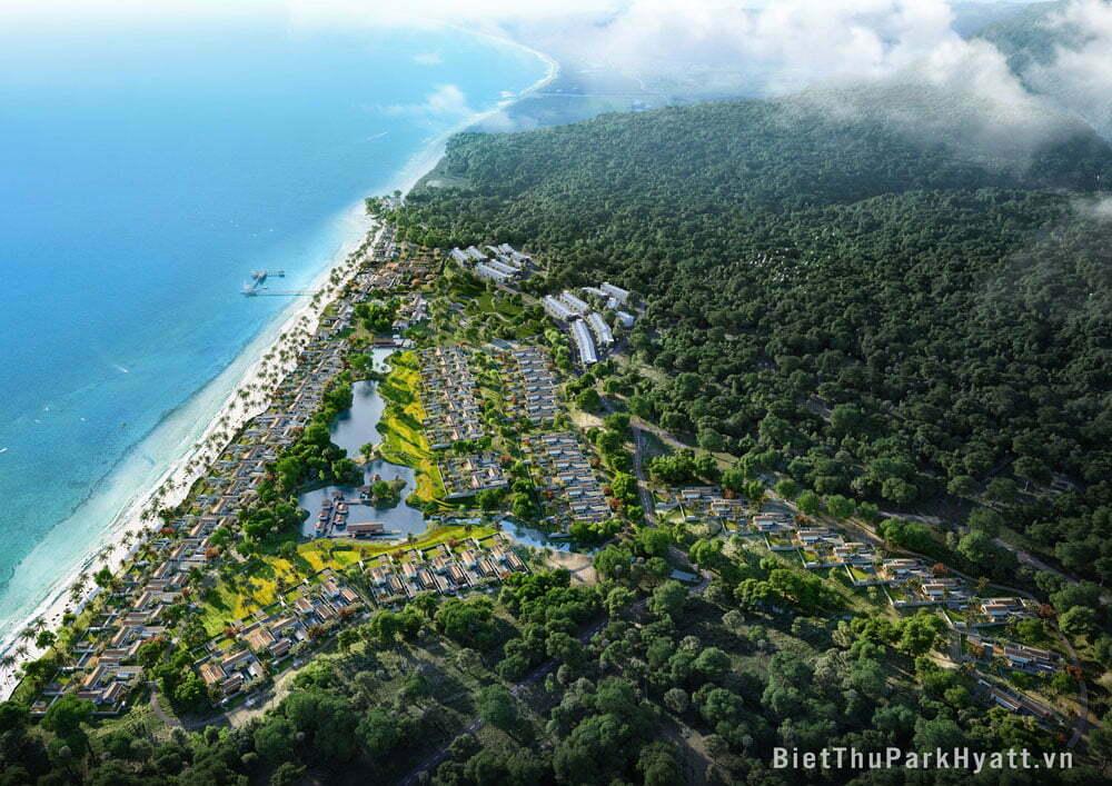 Biệt thự Park Hyatt Phú Quốc - CĐt BIM Land