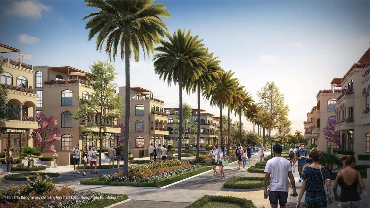 Palm Garden Shop Villas Phu Quoc - Dấu ấn biệt thự phố 2 mặt tiền hoàn toàn mới