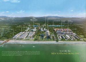 Vị trí - Thước đo tiềm năng phát triển của dự án BĐS nghỉ dưỡng biển