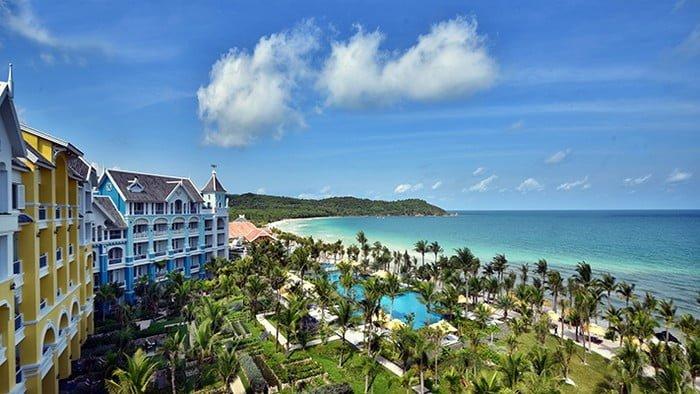 Hội tụ tất cả các thương hiệu khách sạn hạng sang - Phú Quốc trên đà soán ngôi vương du lịch
