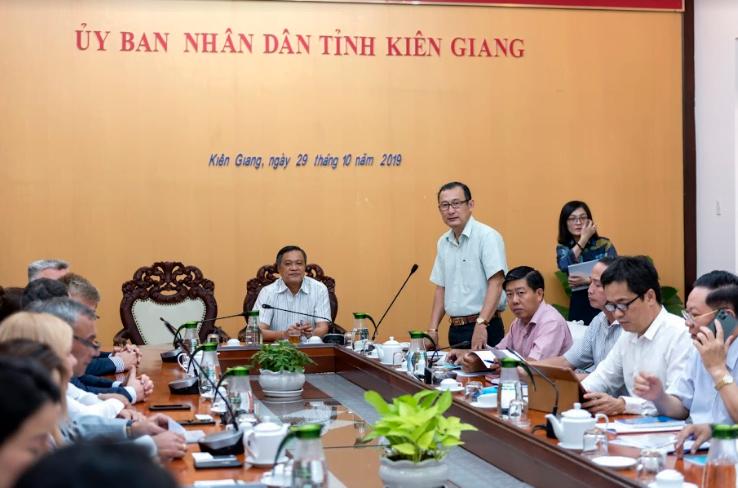 Tỉnh Kiên Giang ký thỏa thuận hợp tác đầu tư với doanh nghiệp Nga