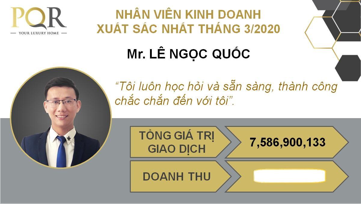 ĐỊA ỐC PQR TỔNG KẾT KINH DOANH THÁNG 3/2020
