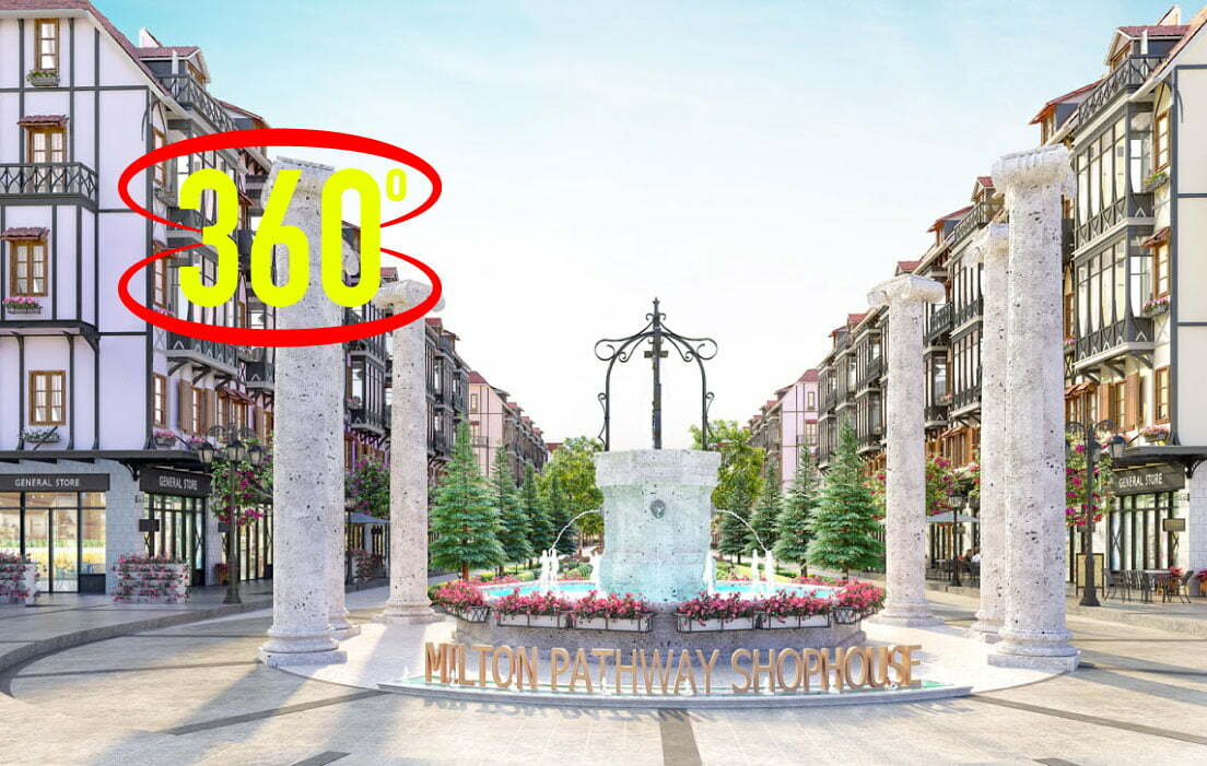 360 dự án Milton Pathway Shophuse Phú Quốc