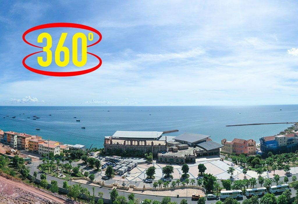 360⁰ Shophouse Địa Trung Hải - Ga cáp treo Hòn Thơm Phú Quốc