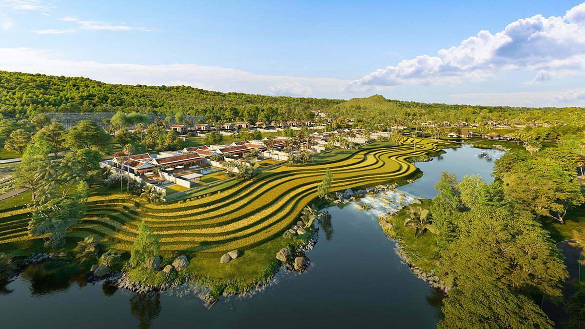 Dinh thự Park Hyatt Phú Quốc là Kết tinh của kiến trúc và văn hoá Việt Nam