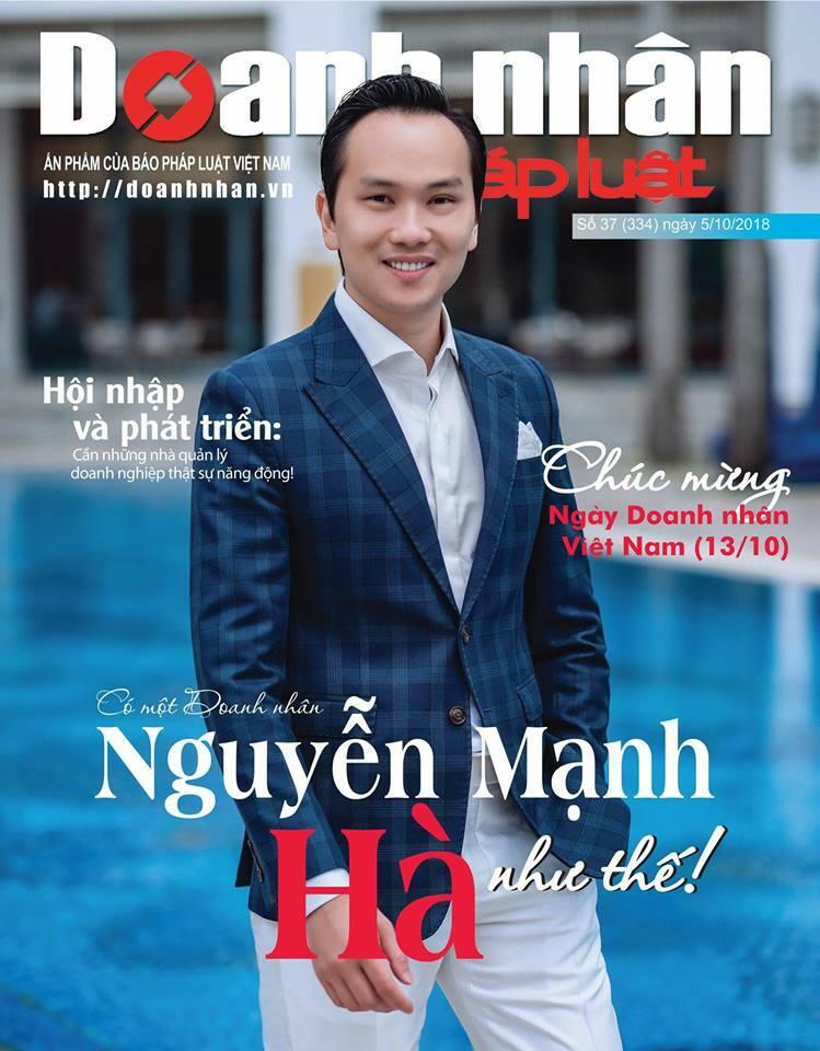 Doanh nhân Nguyễn Mạnh Hà: Chủ tịch THINK BIG Group