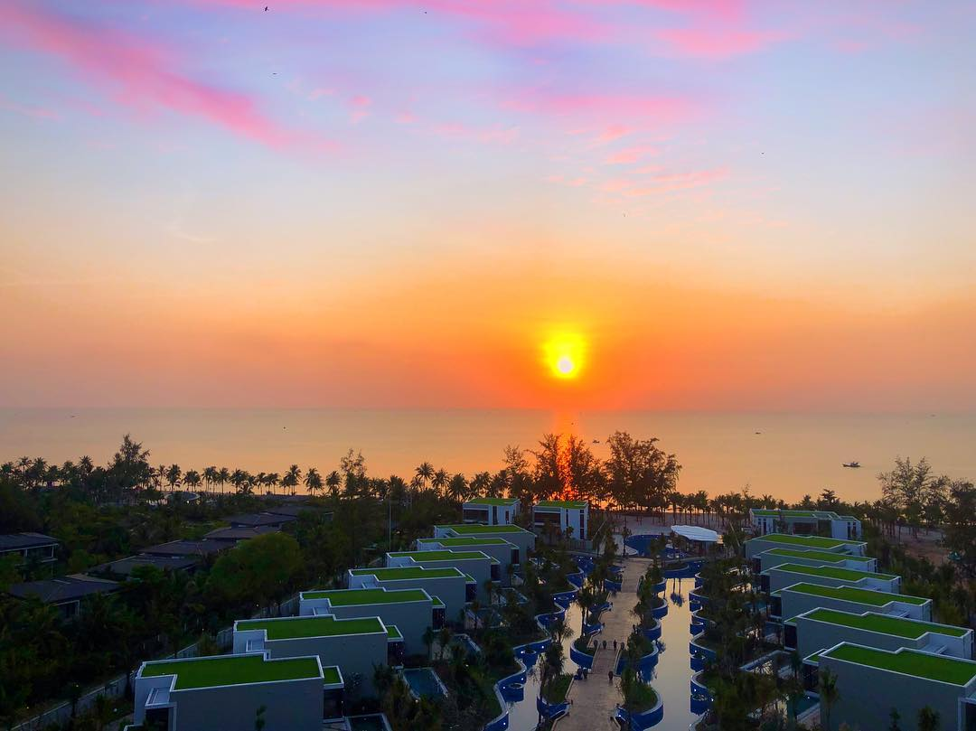 Ngắm hoàng hôn tại Best Western Premier Sonasea Phú Quốc