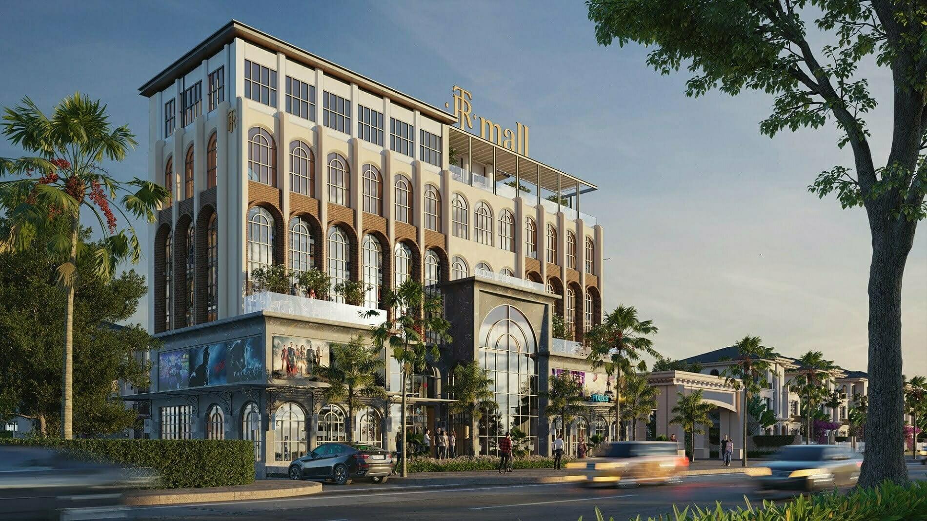 Trung tâm thương mại giải trí TR Mall thuộc dự án The Residence Phú Quốc