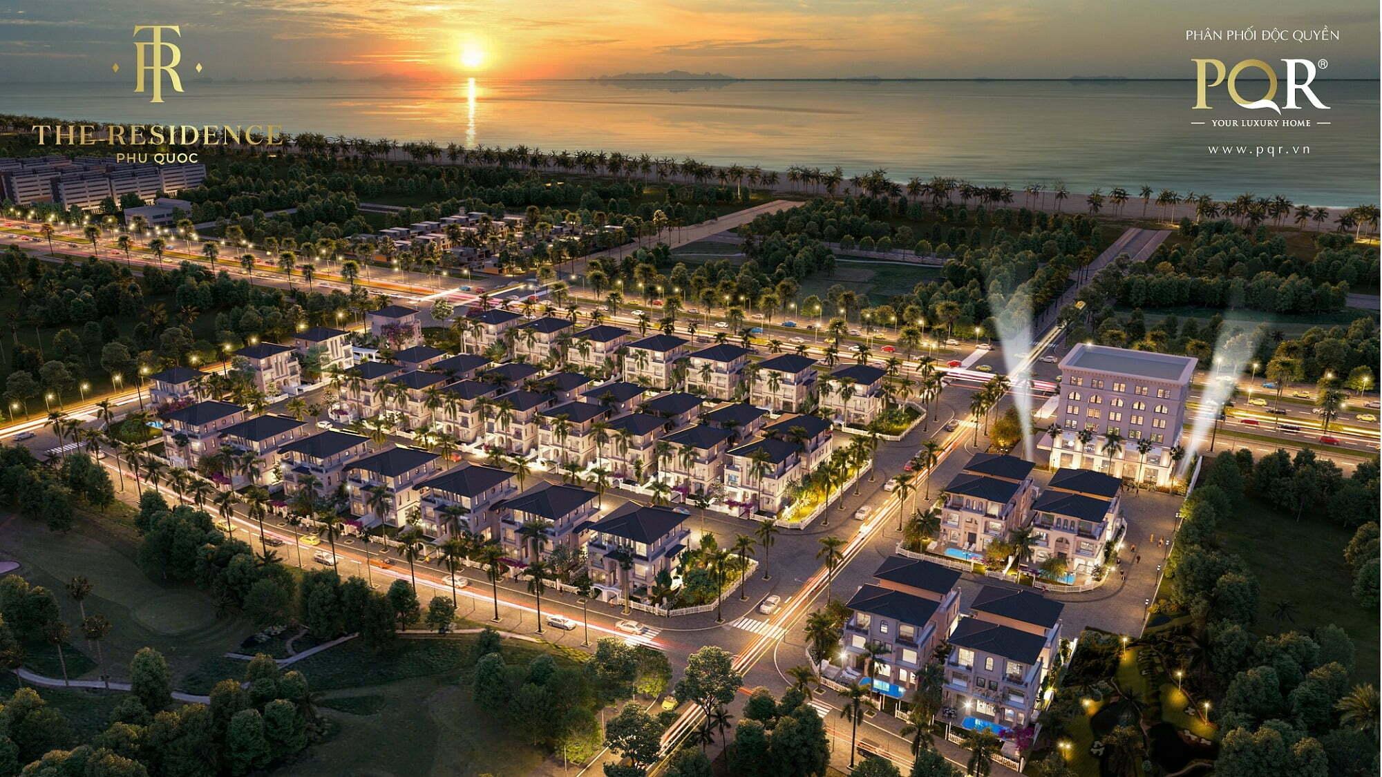 Phối cảnh tổng thể dự án The Residence Phú Quốc